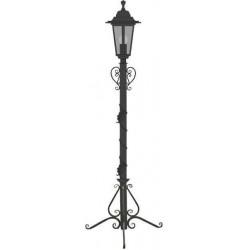 Столб фонарный кованый, без фонаря